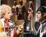 Colin Baker & Michael Jayston (Doctor Who), Genuine Signed Autograph,  11069